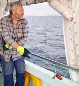 Claes Lundskog, krabbfiske, hummerfiske, Knippla båtcharter, västkusten