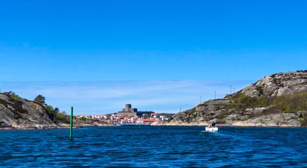 Marstrand, Albrektsunds kanal, Källö-Knippla, västkusten, båtcharter